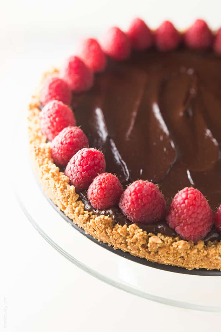 Healthy Chocolate Tart (Paleo, Vegan, GF) — Tastes Lovely