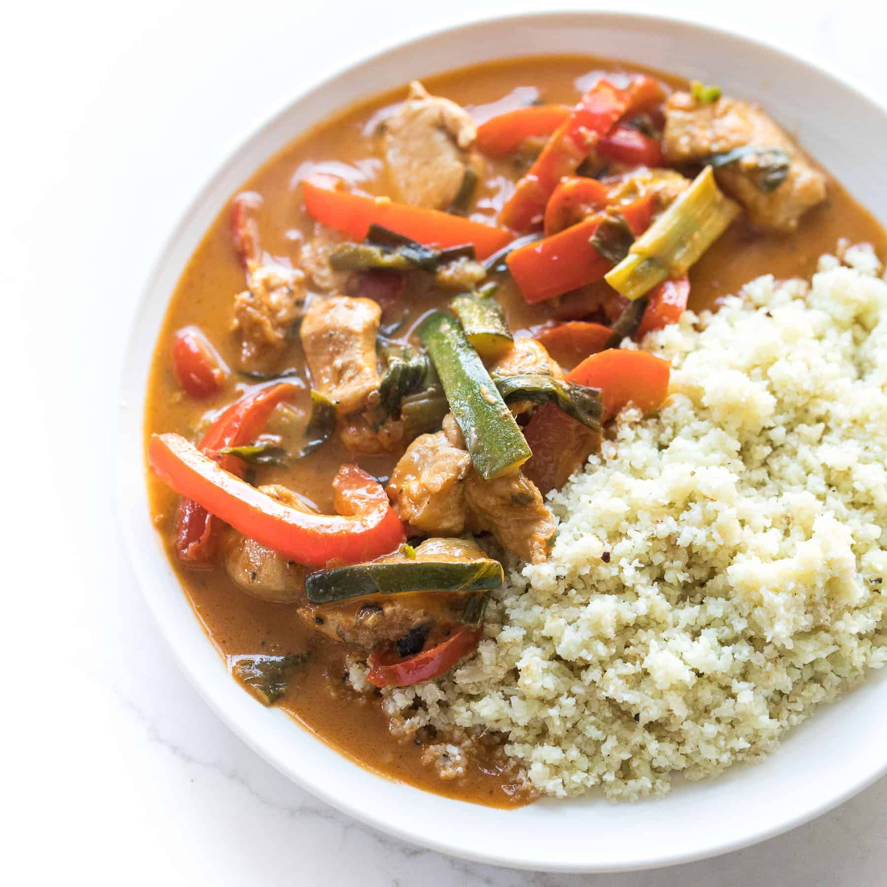 Coconut Chicken Thai Curry