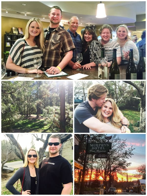 Weekend in Murphy's, CA