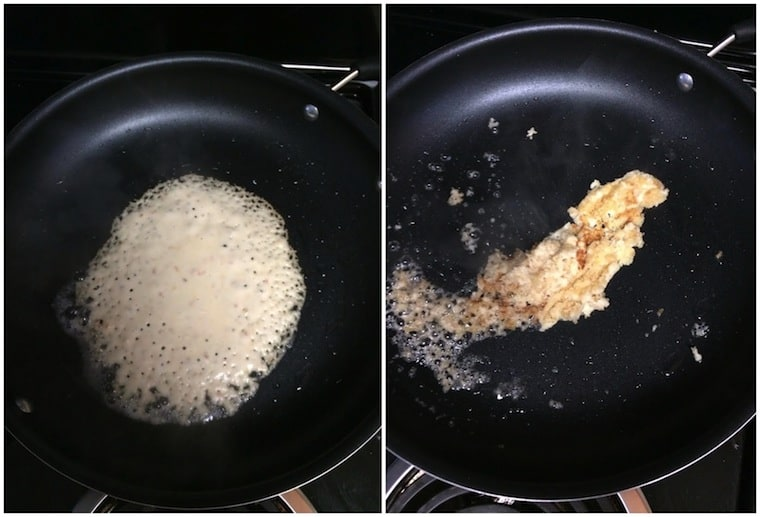 Coconut Pancake Fail