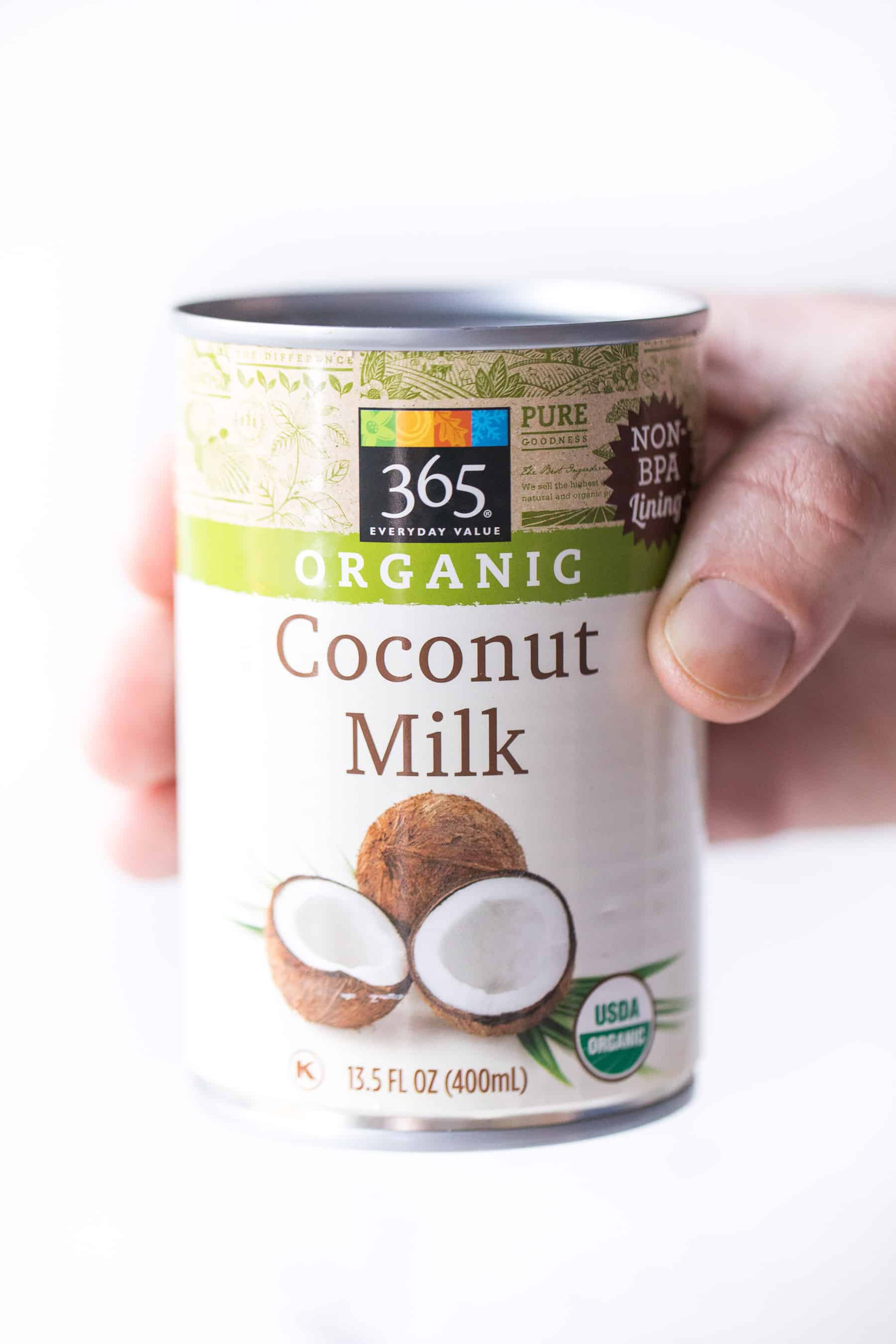 The best kind of coconut milk to use for coconut whipped cream