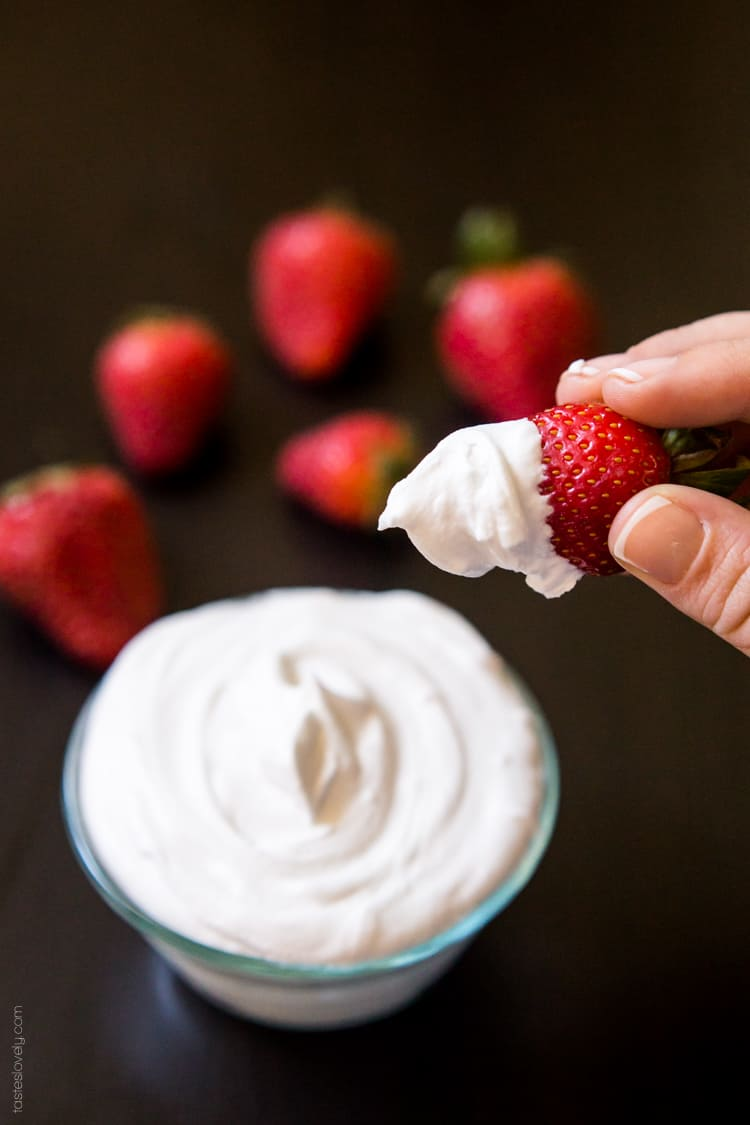Strawberries and whipped cream sex