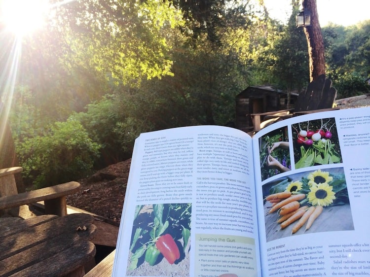 Reading about Gardening