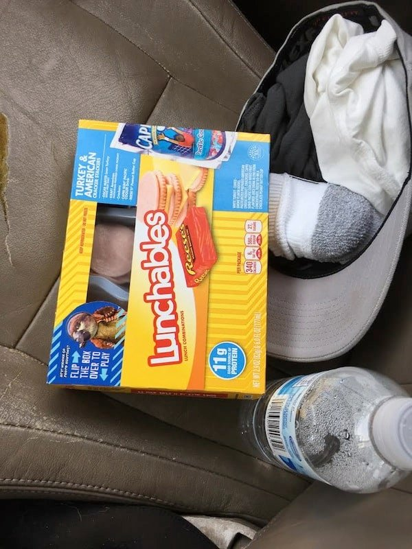 Shawn's Lunchable Lunch