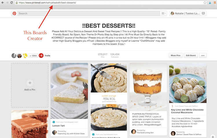 How To Find A Pinterest Group Board Creator Admin