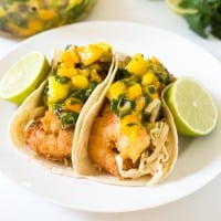 Tropical Coconut Shrimp Tacos