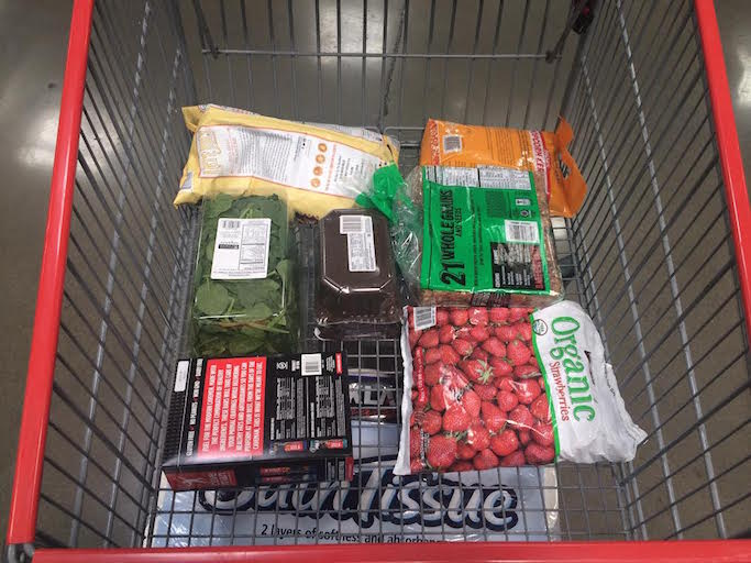 How to get thru the costco checkout line fast