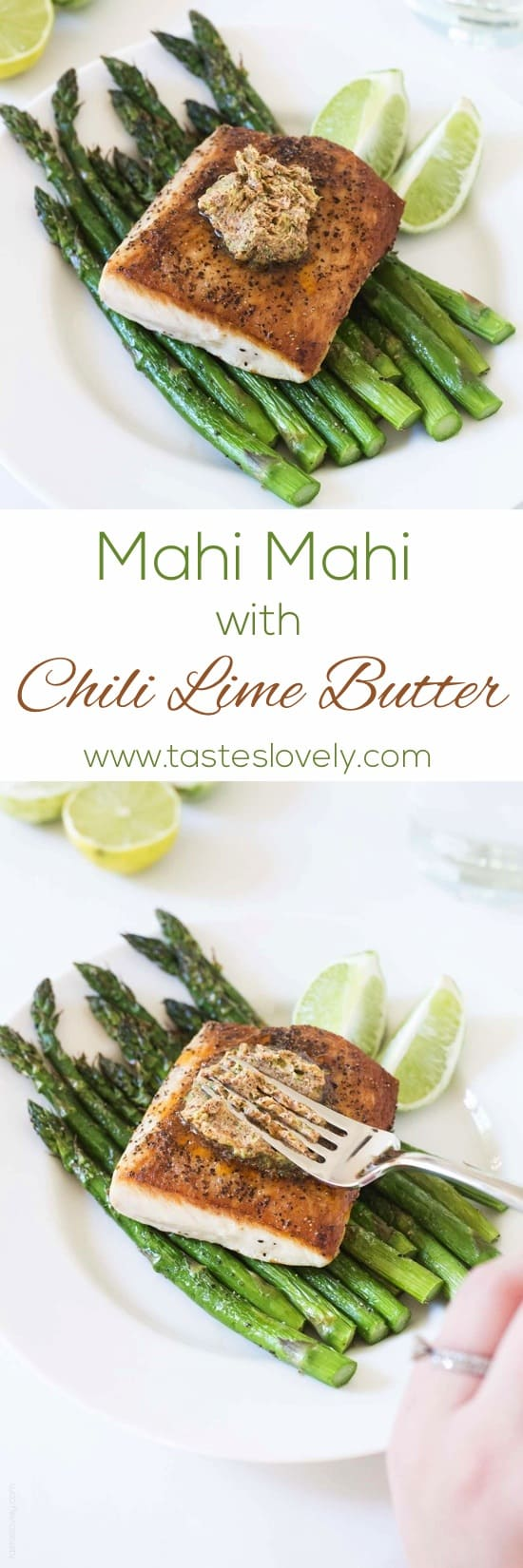Mahi Mahi with Chili Lime Butter - Tastes Lovely