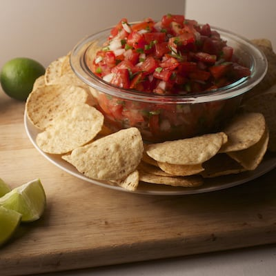 Pico De Gallo Salsa | tasteslovely.com
