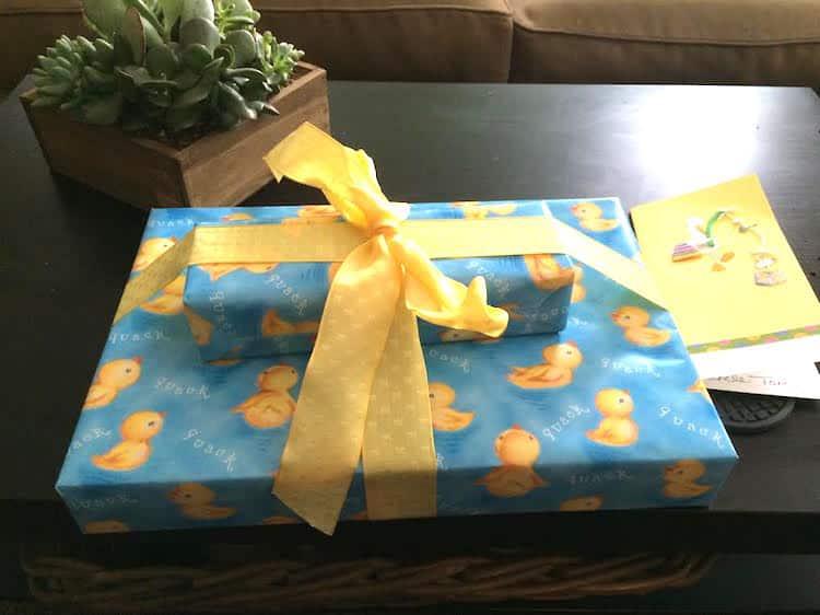 Babies 1st present