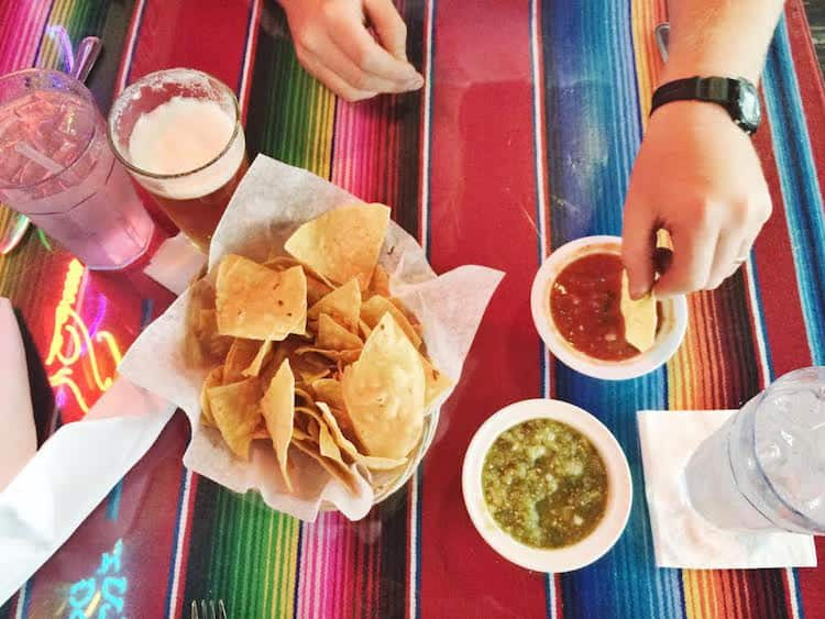 Chips & Salsa at Luna Loca