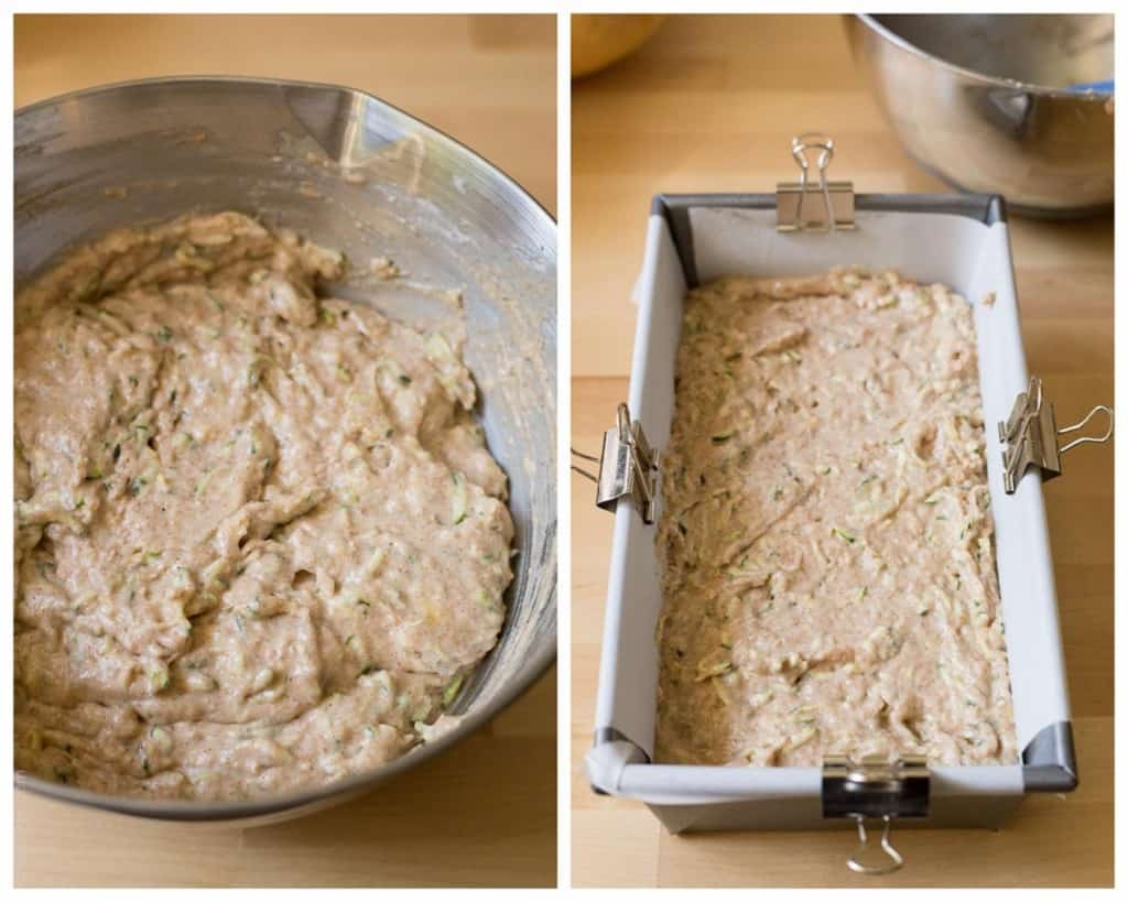 Healthy Zucchini Bread Recipe - made with half the amount of sugar, whole wheat flour, greek yogurt & coconut oil. A healthier zucchini bread you can enjoy without the guilt!