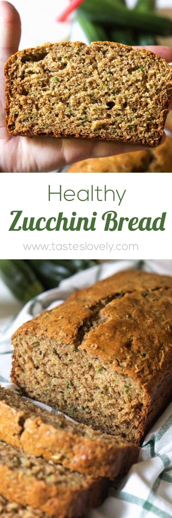 Healthy Zucchini Bread Tastes Lovely