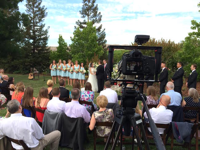 My View of Filming Weddings