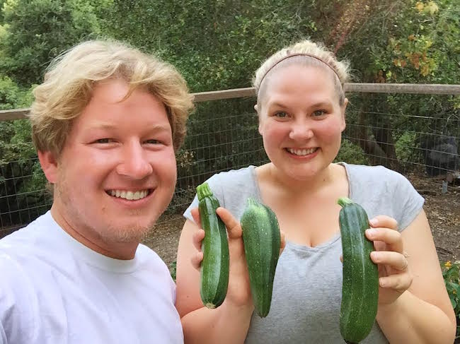 Our First Zucchini's