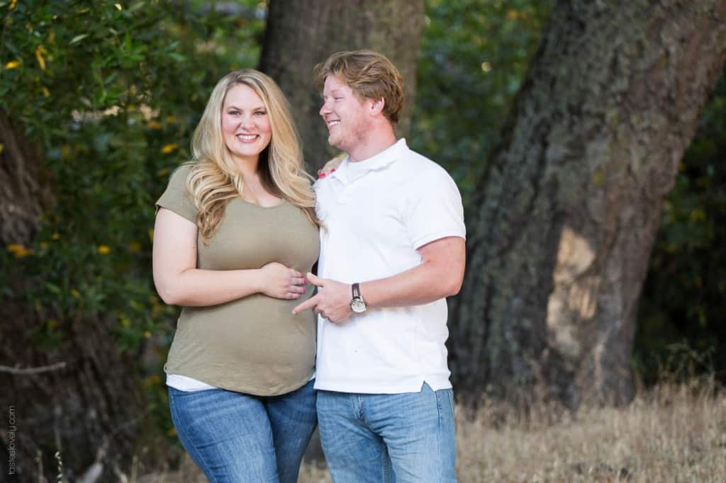 Pregnancy Announcement | tasteslovely.com