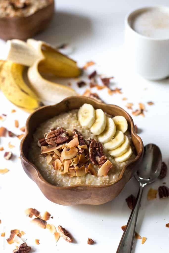 Coconut Banana Oatmeal