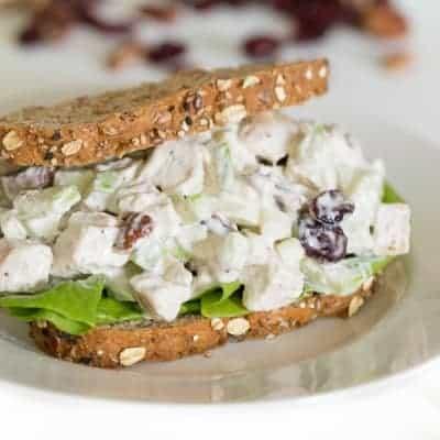 Fall Chicken Salad | tasteslovely.com