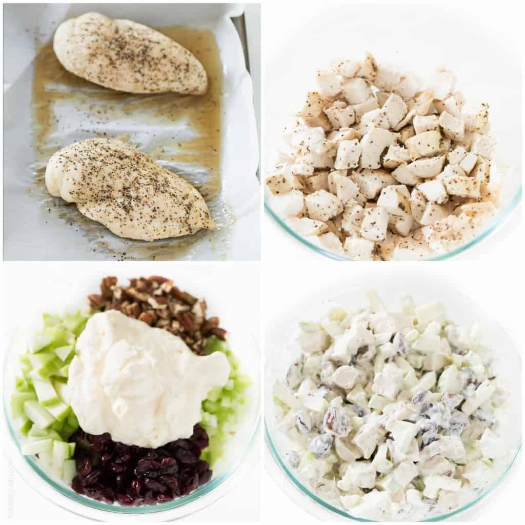 Chicken Wrap With Apples And Dried Cranberries Recipes — Dishmaps