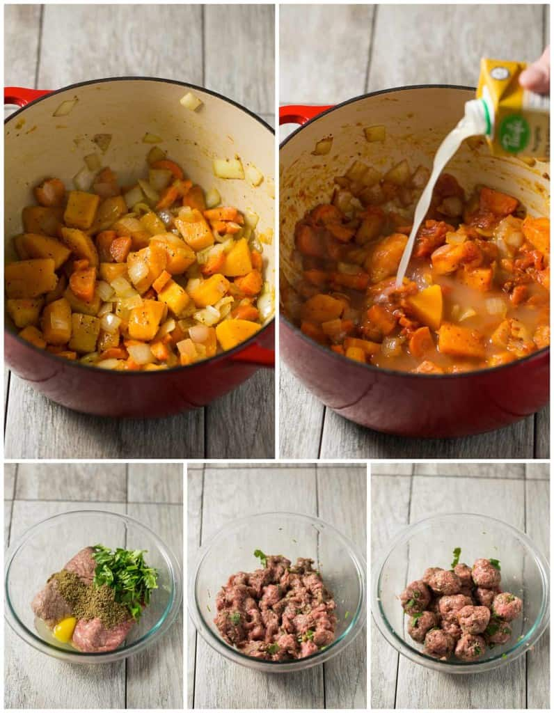 Winter Albondigas with Shredded Cabbage - a paleo, gluten free, dairy free and Whole30 soup dinner!
