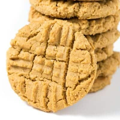 BEST Dairy Free Peanut Butter Cookies | tasteslovely.com