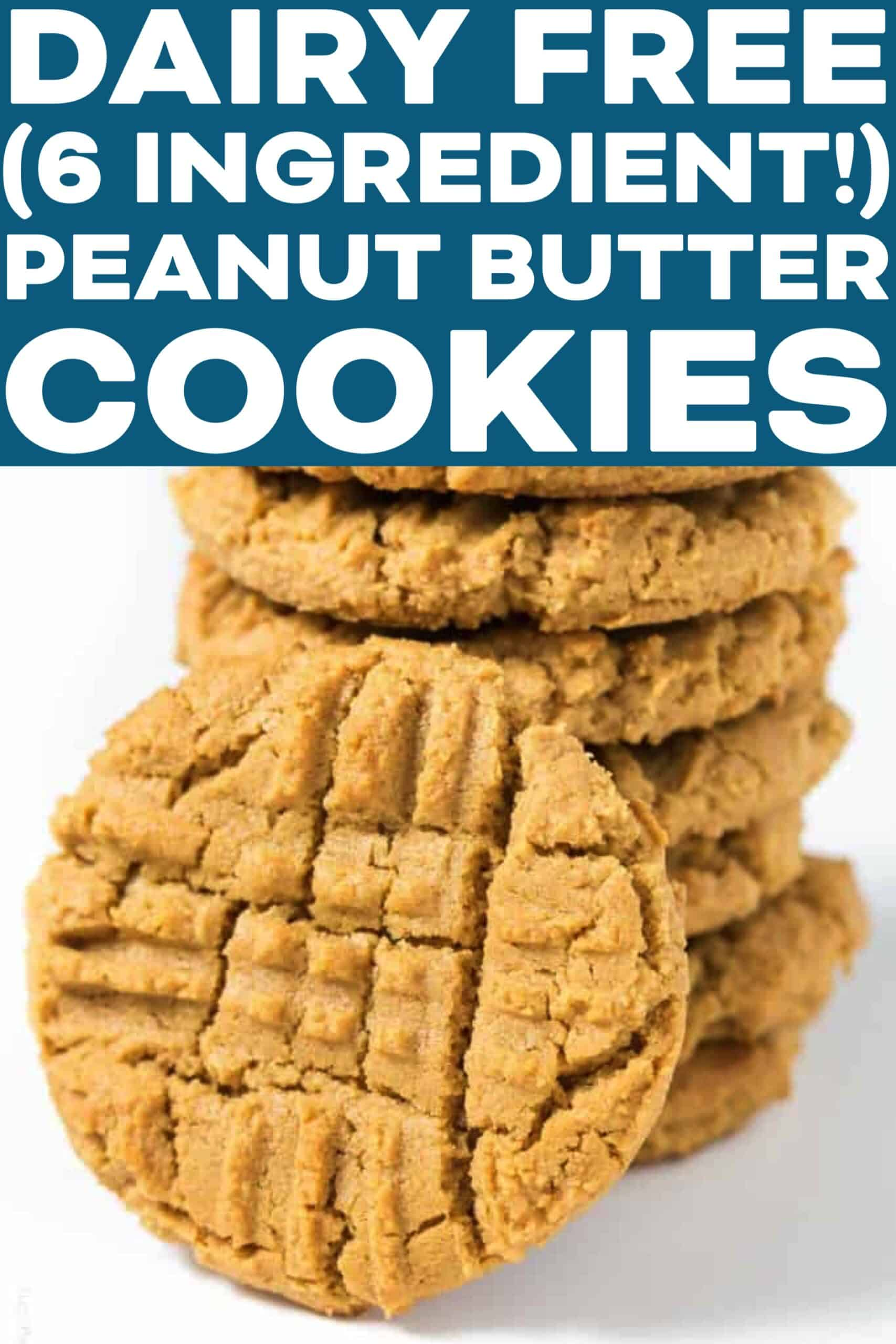 Dairy Free Peanut Butter Cookies Tastes Lovely