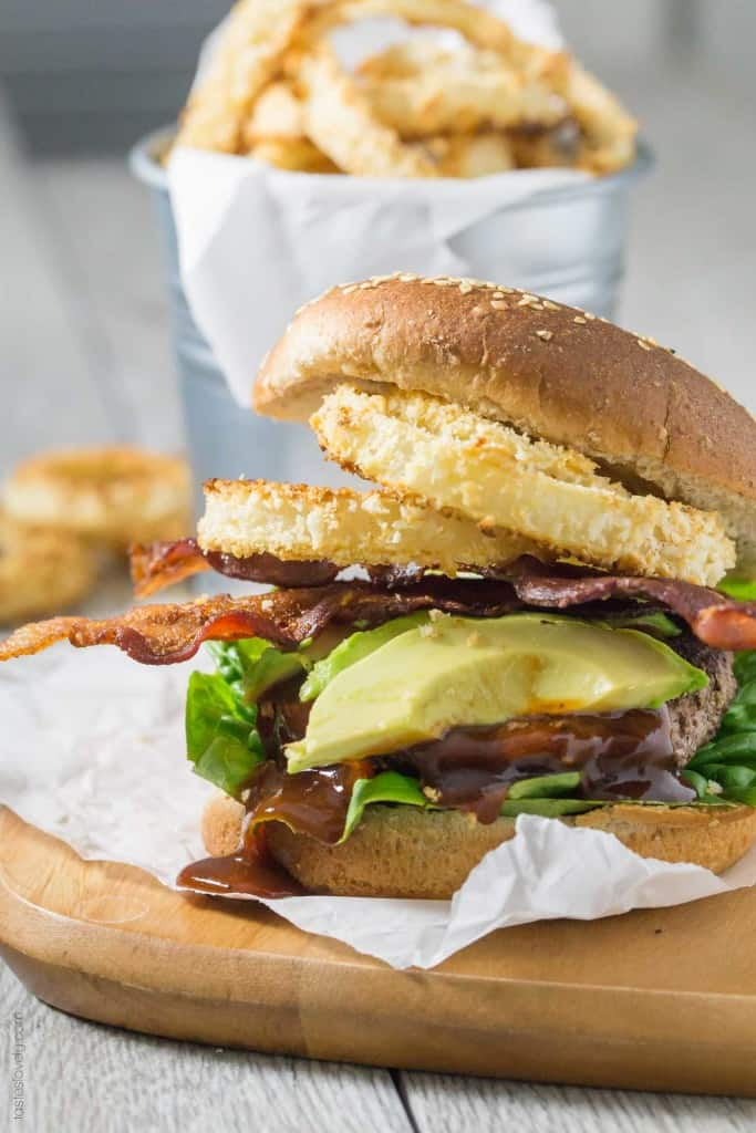 BBQ Bacon Western Burgers
