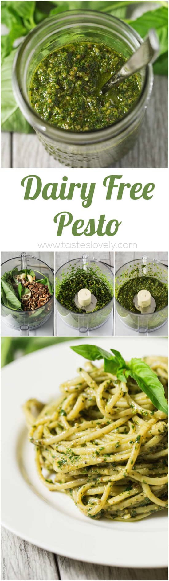 Dairy Free Pesto that is Paleo, Whole30 and Vegan!