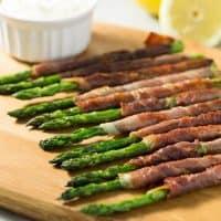 Prosciutto Wrapped Asparagus | tasteslovely.com