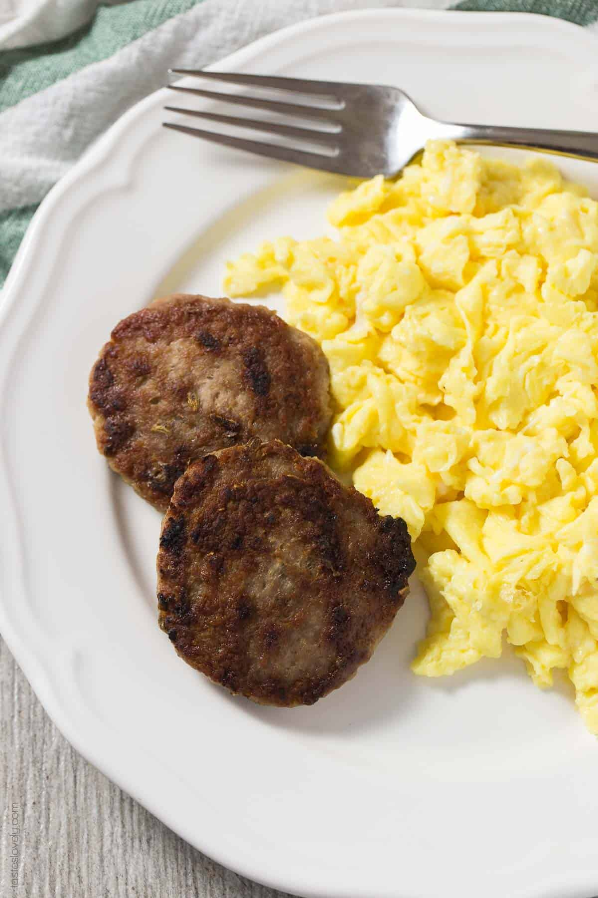 Homemade Paleo Breakfast Sausage Patties