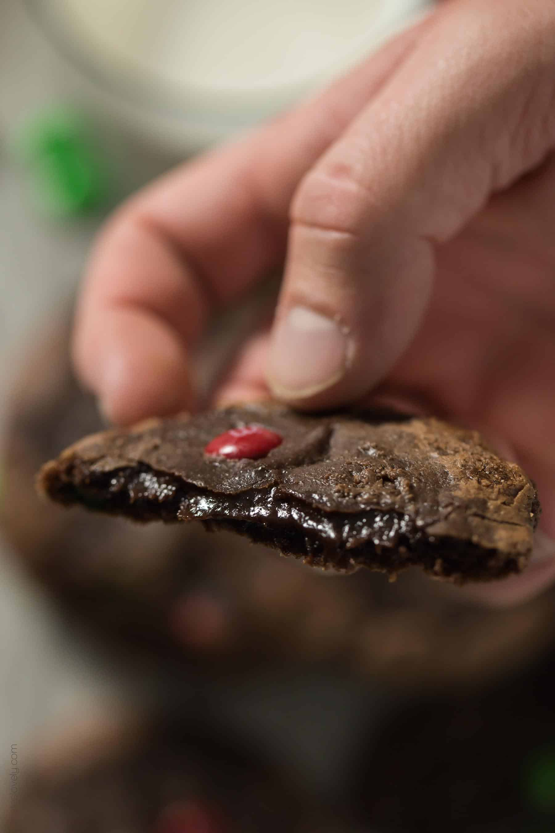 M&M'S® Brownie Mix Cookies - made from a box of brownie mix. Just 5 ingredients and 20 minutes!