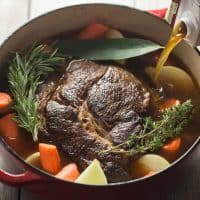 Paleo Pot Roast with Gravy