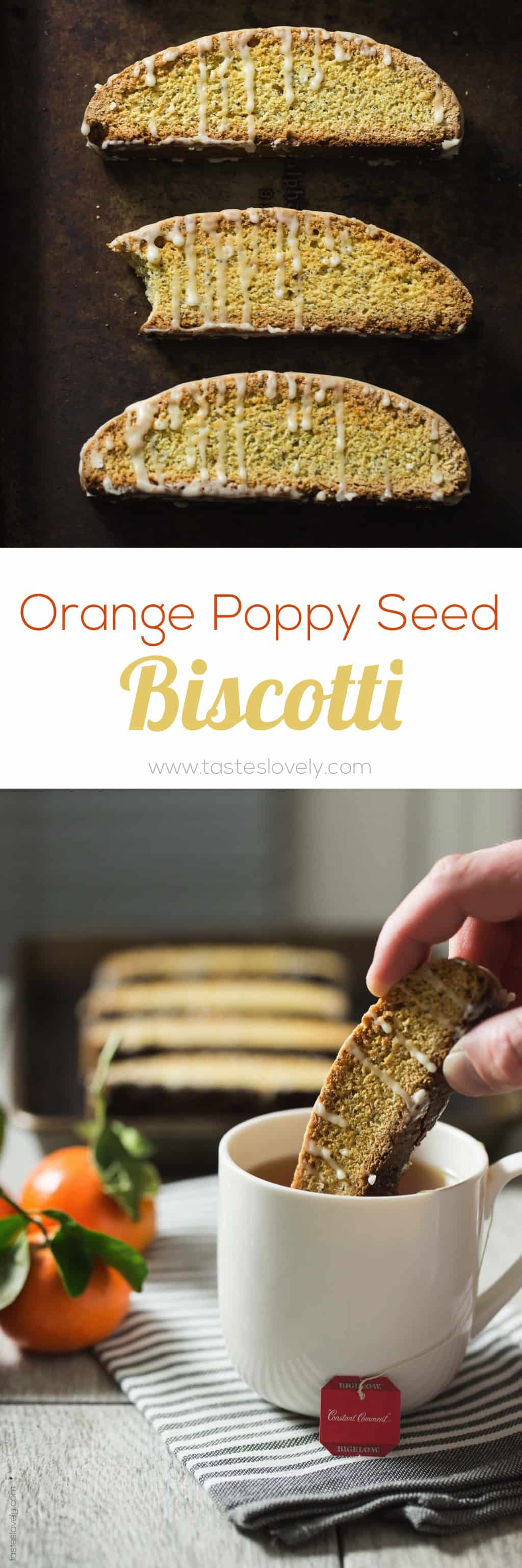 Orange Poppy Seed Biscotti - made with no butter so they're dairy free ...