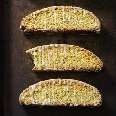 Orange Poppy Seed Biscotti | tasteslovely.com