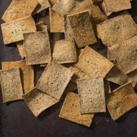 Almond Pulp Crackers (Paleo + Whole30)