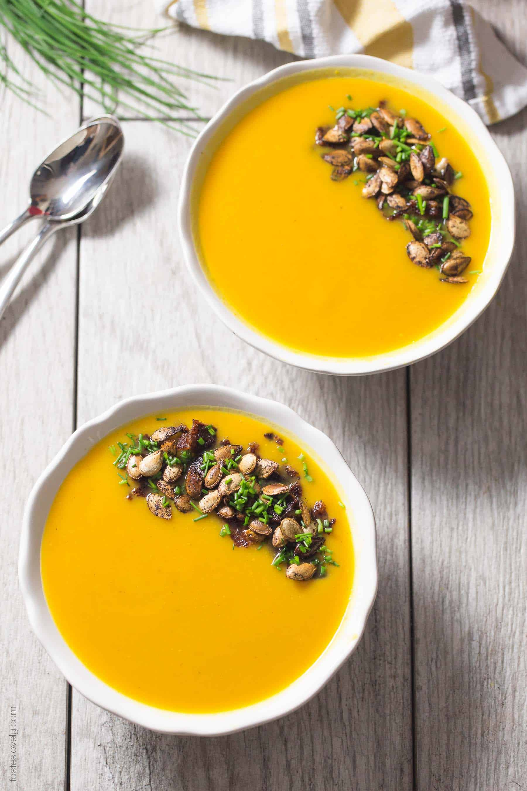 Paleo Roasted Butternut Squash Soup Tastes Lovely