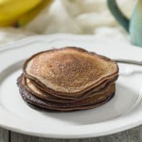 Banana Bread Pancakes (Paleo + Whole30)