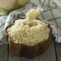 Homemade Cauliflower Rice (Paleo, Whole30)
