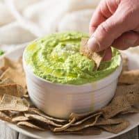 Paleo Sweet Pea No-Bean Hummus