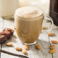 Whole30 Vanilla Latte Coffee
