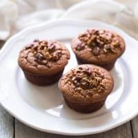 Blender Almond Flour Paleo Banana Muffins