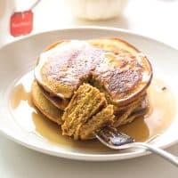 Paleo Pumpkin Pancakes (Dairy Free, Gluten Free)