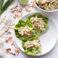 Curried Chicken Salad with Cashews (Paleo, Whole30)