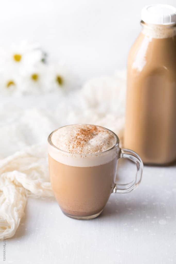 Almond Coconut Chai-Tea Latte