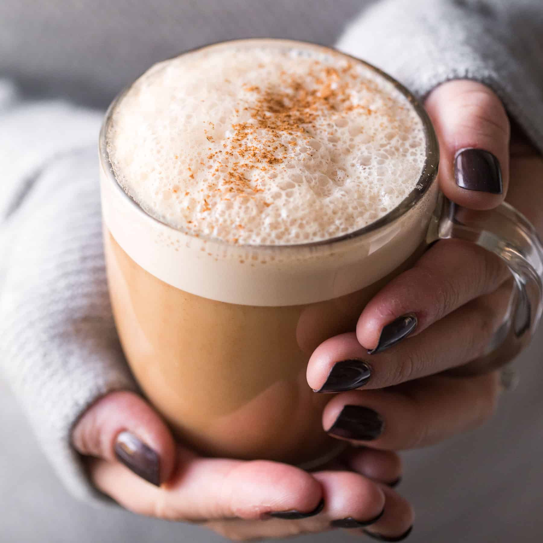 Paleo Almond Milk Chai Tea Latte (Dairy Free)