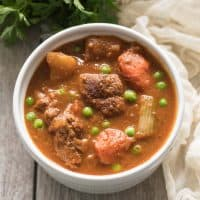 Paleo & Whole30 Beef Stew (Slow Cooker or Dutch Oven)