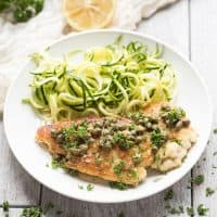 Paleo & Whole30 Chicken Piccata