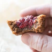 Paleo Almond Butter and Jam Cookie Cups