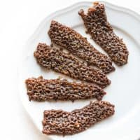 Paleo Pecan Candied Bacon
