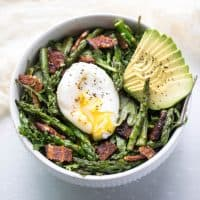 Brunch Kale Salad (Paleo, Whole30)
